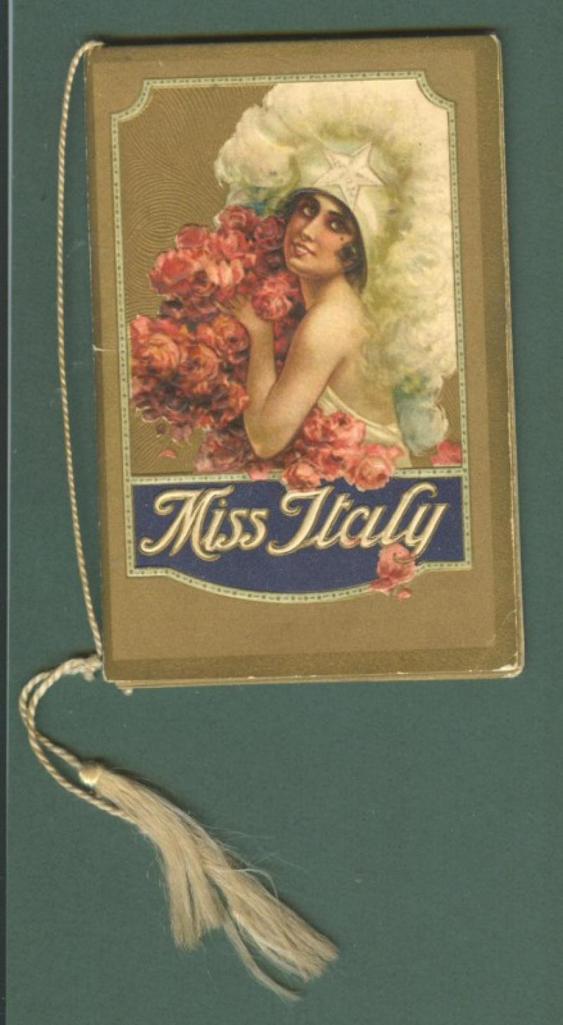 CALENDARIETTO ANNO 1929. MISS ITALY.