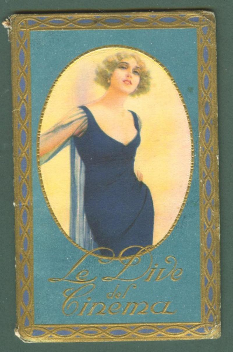 CALENDARIETTO ANNO 1930. LE DIVE DEL CINEMA.