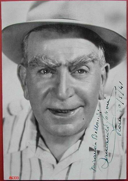 FALCONI ARMANDO (1871 - 1954). Famoso attore teatrale e capocomico.
