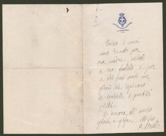 BOSELLI PAOLO (Savona 1838 '– Roma 1932). Uomo politico italiano, pivolte ministro.