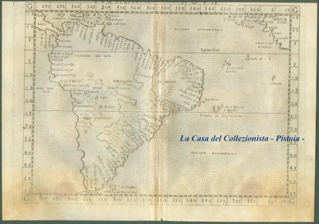 AMERICA MERIDIONALE. Tierra Nueva.