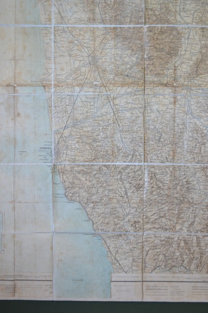 Carta geografica dell''Istituto Geo. Militare, anno 1913.
