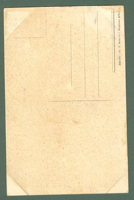 Toscana. BARBERINO VAL D'ELSA, Firenze. Porto Medievale. Cartolina d'epoca non viaggiata, circa 1920.