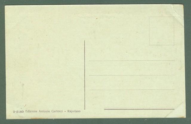 Toscana. RAPOLANO, Siena. Pubblico Passeggio. Cartolina d'epoca non viaggiata, circa 1930.