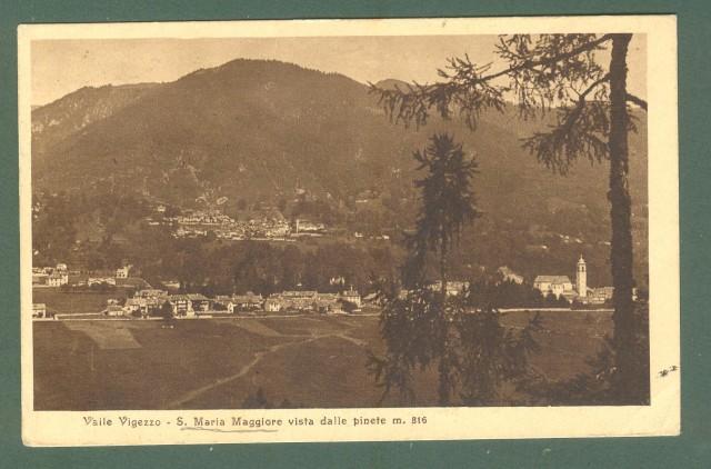 Piemonte. S. MARIA MAGGIORE, Novara. Cartolina d'epoca viaggiata nel 1926