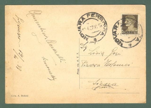 Piemonte. GRIGNASCO, Novara. Panorama. Cartolina d'epoca viaggiata nel 1937