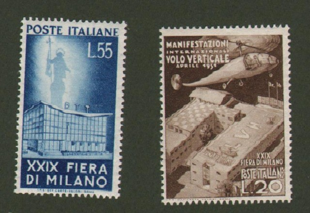 Repubblica Italiana. 29'° Fiera di Milano (Sassone serie 146).