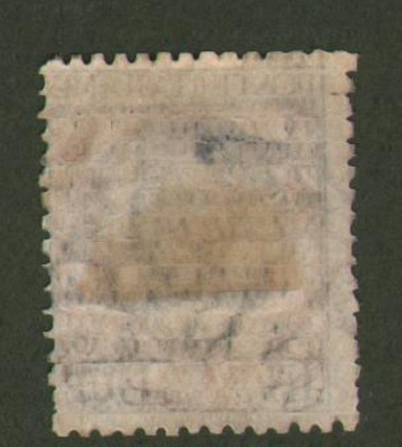 Regno d'Italia. CROCIERA ITALIANA. 1924. Lire 2 verde, grigio e arancio soprastampato (Sassone n. 168).