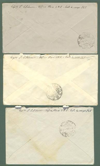 Posta militare. Lettera del Febbraio - Aprile 1944 POSTA DA CAMPO N. 865 per Stiava (Lucca).