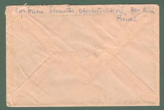 Storia postale estero. FRANCIA, FRANCE. Lettera del 1947 per la Svizzera.