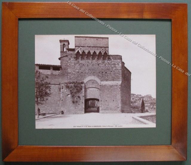 (Siena) S. GIMIGNANO. Porta S. Giovanni.