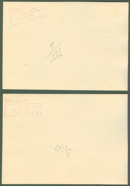 FIRENZE. S.A.R. la Principessa di Piemonte visita nel 1937 il R. Istituto d. Santissima Annunziata a Poggio Imperiale.