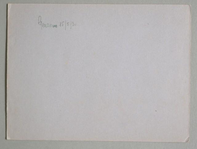 Lazio. GENZANO, Roma. Foto d'epoca del 15.05.1930. In primo piano il vessillo della Scuola di Giornalismo di Roma.