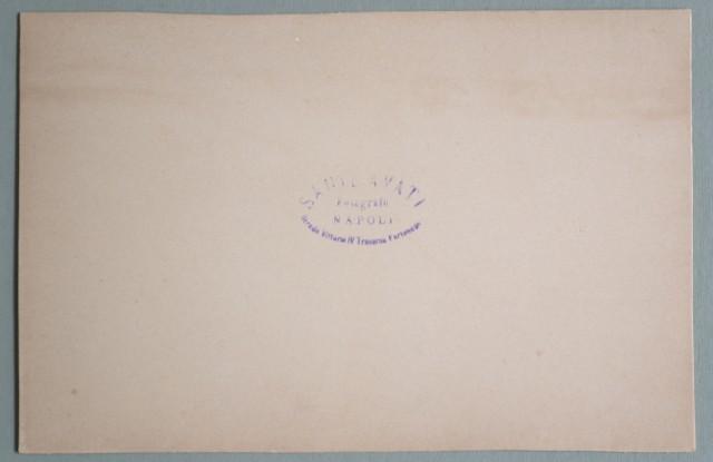 Campania. NAPOLI. Tarantella. Foto d'epoca dello studio Sante Avati. Circa 1910