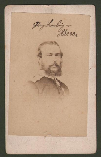 Alessandro Dassia (1823 '– 1888), principe di Hessen. Raffigurato a mezzo busto.