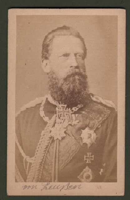 Federico III di Germania  (1831 '– 1888). Secondo imperatore tedesco e re di Prussia.