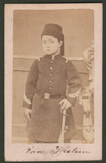Said Halim Pascià  (1865 '– 1921). Gran Visir dell''impero ottomano.
