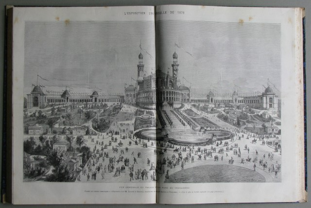 Periodico illustrato '800. L'ILLUSTRATION, JOURNAL UNIVERSEL. ANNATA 1876, completa.
