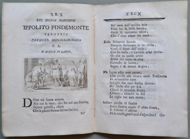 ALLA SIGNORA AURELIA DEI CONTI DEGLI ODDI SPOSA DEL SIGNOR CESARE MENICONI, Patrizi perugini, poesie.