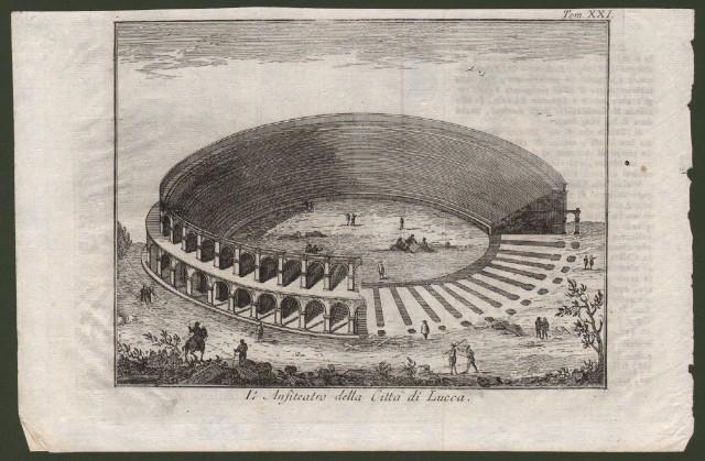 L'Anfiteatro della Città di Lucca