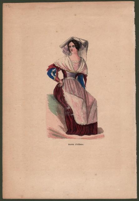 ALBANO, Lazio. Donna d'Albano.