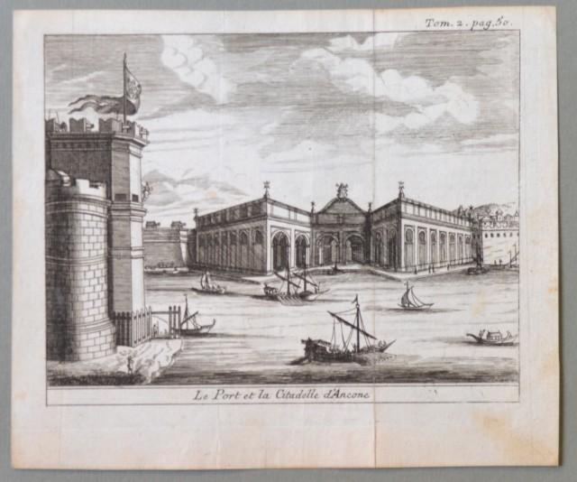 MARCHE - ANCONA. Le Port et la Cittadella d''Ancone