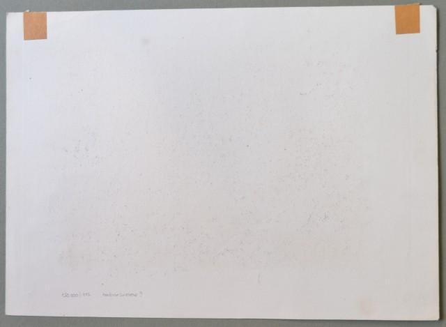 VAL D''AOSTA. L''Hospice du St. Bernhard. Vallais.Panoramica fine incisione raffigurante il lago e l''Ospizio.