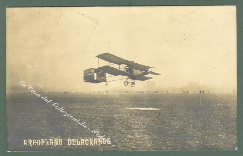 AVIAZIONE. Aeroplano Delagrange.