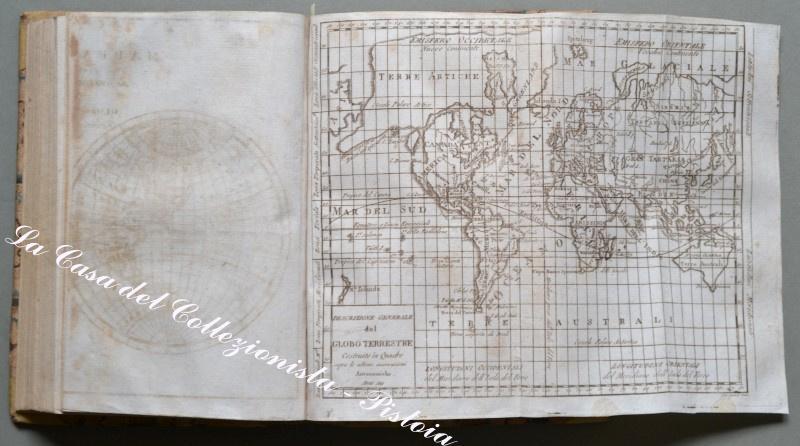 "Geografia. LORENZ E. - BROUKNER I.. ""Dizionario geografico portatile...mondo"" .Venezia, 1810."
