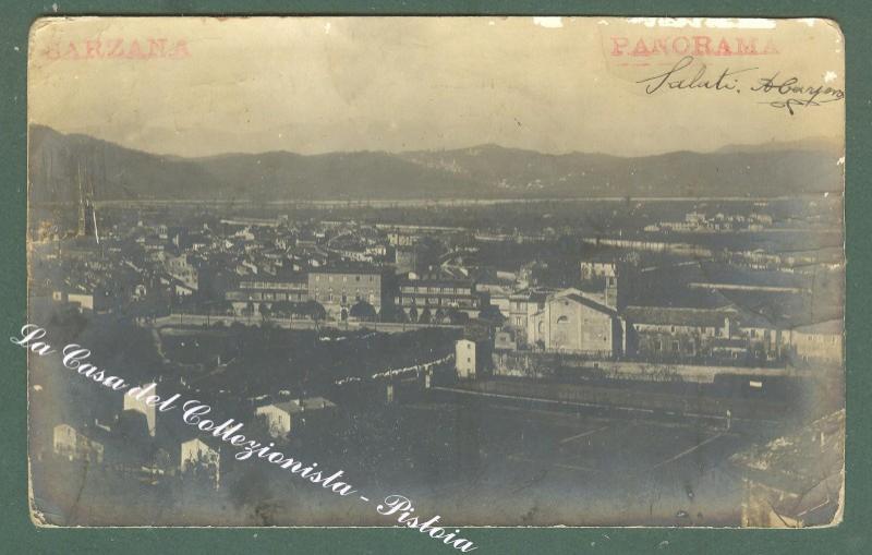 Liguria. SARZANA.Spezia. Panorama. Cartolina d'epoca fotografica.