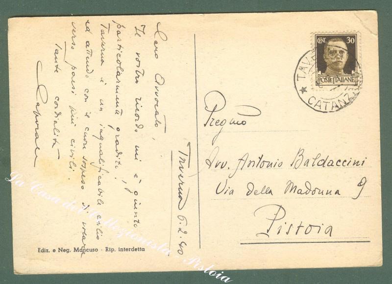 Calabria. VILLAGGIO MANCUSO, Sila, Catanzaro. Cartolina d'epoca viaggiata