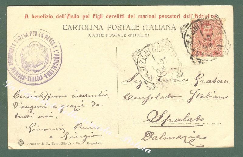 Veneto. VENEZIA, Laguna veneta. Piscicoltura Marina nelle Valli della Laguna, Valle Figheri.