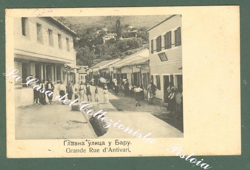 MONTENEGRO. Antivari. Cartolina d'epoca viaggiata