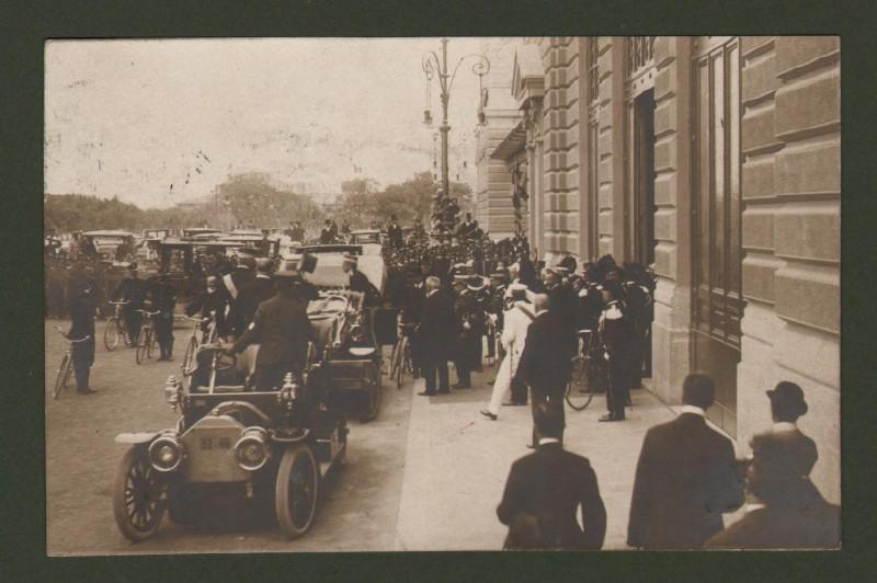 Toscana. LIVORNO. Cartolina fotografica d'epoca viaggiata
