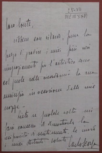 SCORZA CARLO (Paola, Cosenza, 1897 '– Castagno d''Andrea, Firenze, 1988)