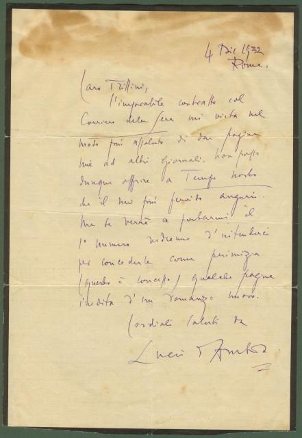 D'AMBRA LUCIO (autografo)