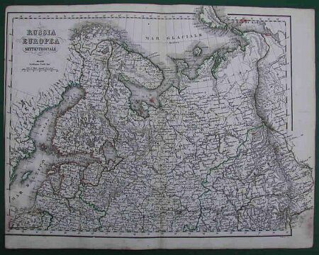 Russia Europea Settentrionale' e 'Russia Europea Meridonale.