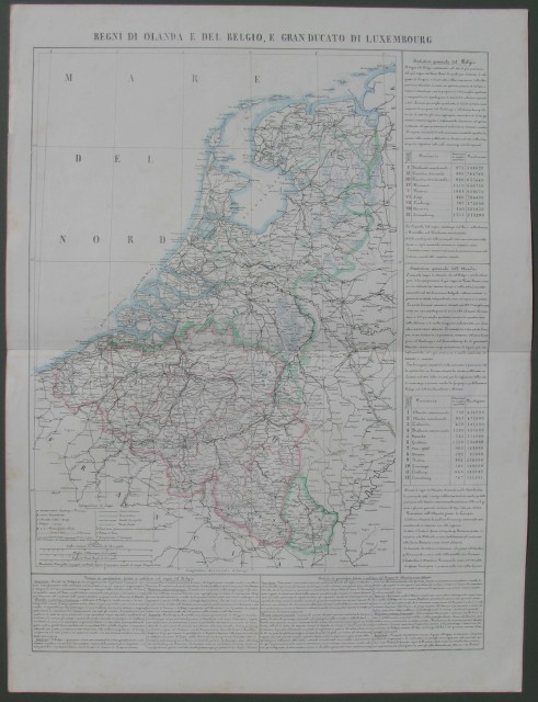 Regni di Olanda e del Belgio, e Granducato di Luxembourg