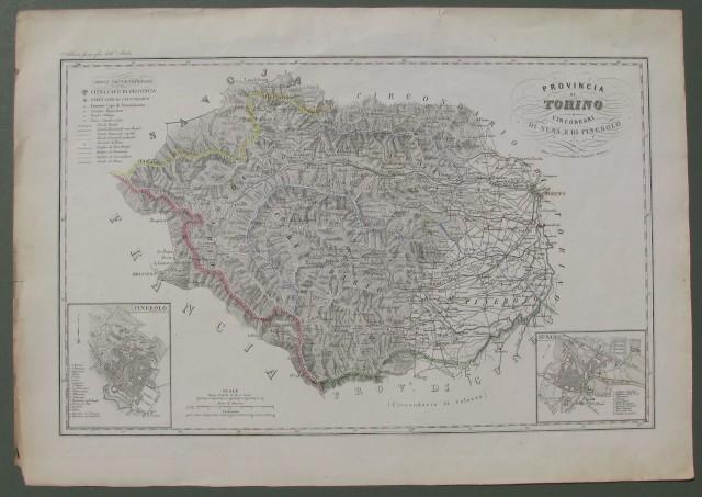 Provincia di Torino. Circondari di Susa e di Pinerolo