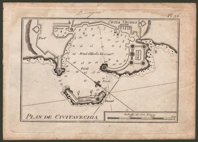Plan de Civitavecchia