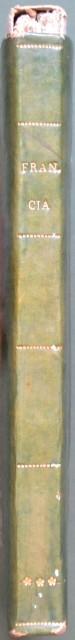 FRANCIA - ITALIA. Carte de la France Divisà¨e en 117 Departements, Prefectures, sous Prefectures Archevà¨chà¨s et Evà¨chà¨s et en 27 Divisions Militaires. Augmentà¨e des 4 Depertements du Duchਠde Berg. Par J.B. Pourson Ing.r Geog.r. an 1809.