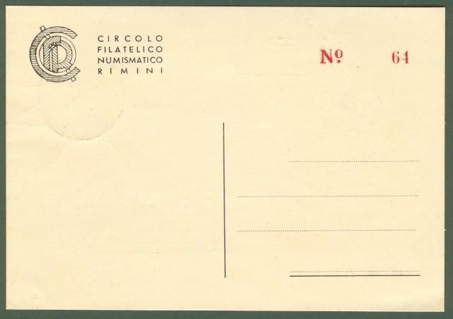 RIMINI. Campionati Nazionali Universitari 4 - 13 maggio 1956.