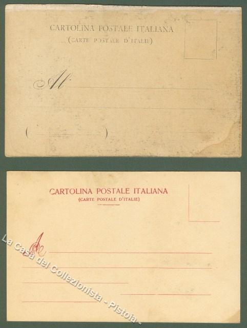 GIUSEPPE VERDI. Due cartoline d'epoca non viaggiate inizio '900.