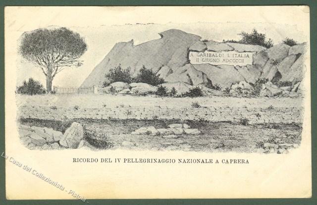 GARIBALDI. Ricordo del IV pellegrinaggio nazionale a Caprera.