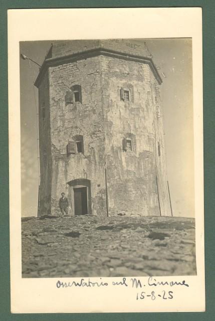 Toscana. MONTE CIMONE, Pistoia. L'osservatorio, 15.08.1925.