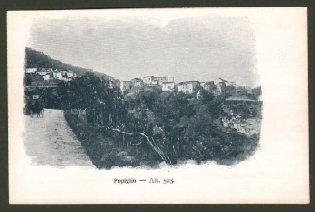 Toscana. POPIGLIO (Pistoia). Panorama.
