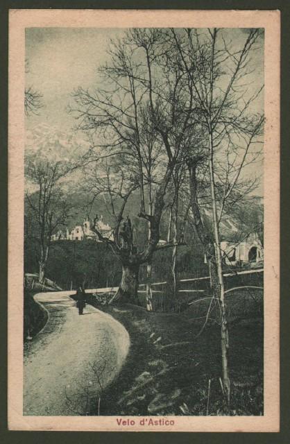 Veneto. VELO D'ASTICO, Vicenza. Cartolina d'epoca viaggiata nel 1924.
