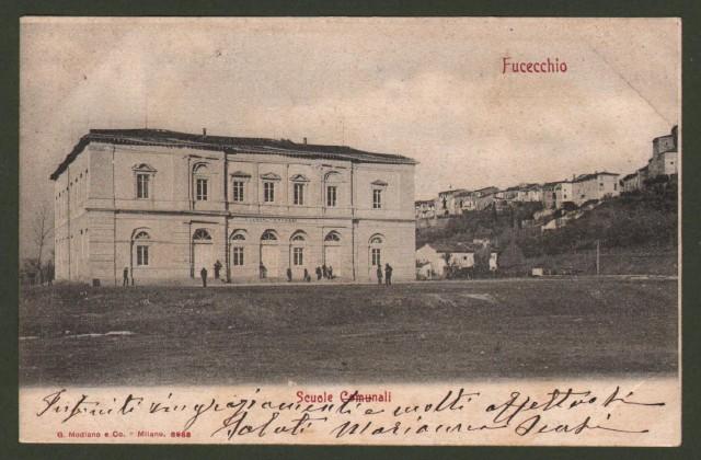 Toscana. FUCECCHIO, Firenze. Scuole comunali.