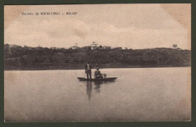 Toscana. FUCECCHIO, padule, Aione. Cartolina d'epoca viaggiata nel 1917.