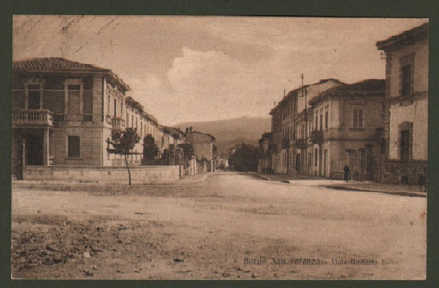 Toscana. BORGO SAN LORENZO, Firenze. Viale Umberto I.
